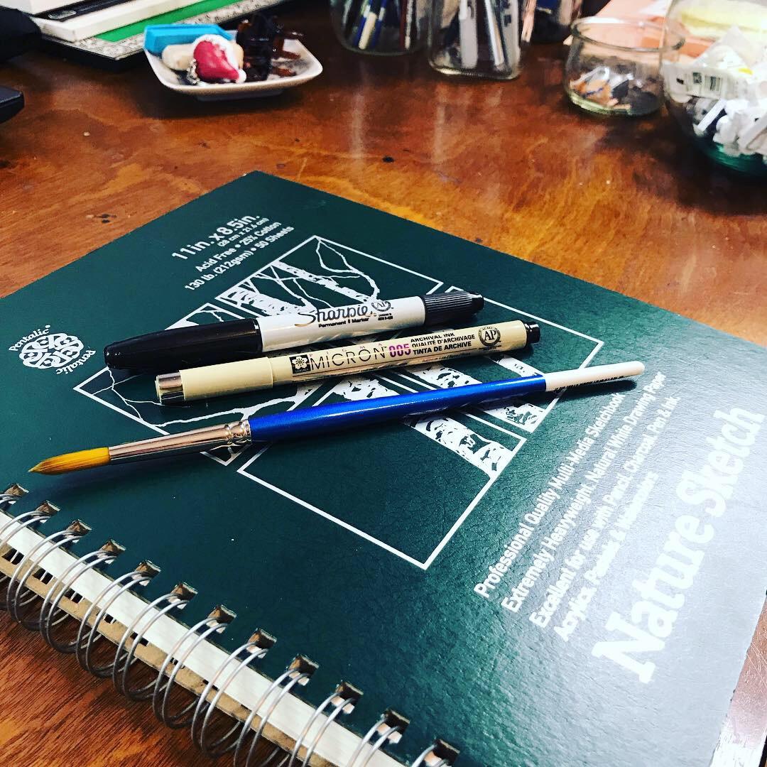 Sketchbook Tour  – Eva Christensen Art